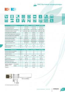 Кликните для просмотра информации о сплит-системе Hitachi PREMIUM с официального каталога (Часть2)